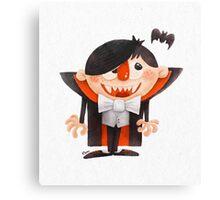 Dracula kid Canvas Print