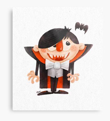 Dracula kid Metal Print