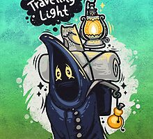Traveling Light Cartoon Character by Voysla