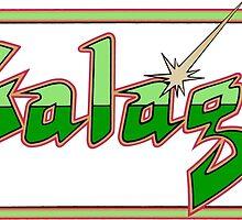 Galaga logo by sbach