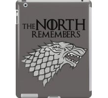 The North Remembers iPad Case/Skin