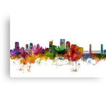 Sacramento California Skyline Canvas Print