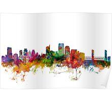 Sacramento California Skyline Poster