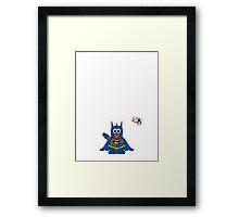 Hero/Icon Penguin - Batman Framed Print