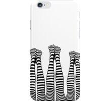 Legs Up (Black & White) iPhone Case/Skin