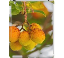 arbutus on tree iPad Case/Skin