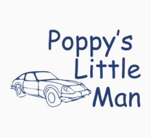 Poppy's Little Man Kids Tee