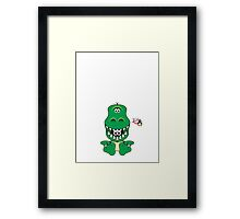 Hero/Icon Penguin - Rex Framed Print