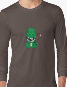 Hero/Icon Penguin - Rex Long Sleeve T-Shirt
