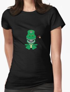 Hero/Icon Penguin - Rex Womens Fitted T-Shirt