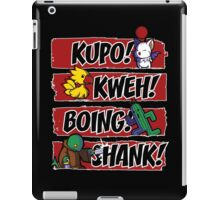 What Does the Tonberry Say? iPad Case/Skin