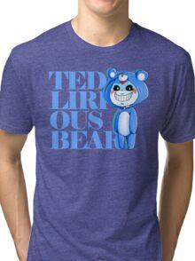 Teddy Lirious Bear Tri-blend T-Shirt