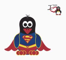 Hero/Icon Penguin - Superman Kids Clothes