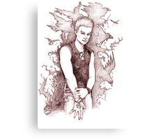 Punk Spike Canvas Print