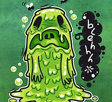 Cartoon Nausea Monster by Voysla