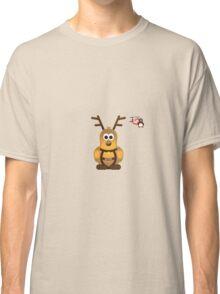 Christmas Penguin - Blitzen Classic T-Shirt