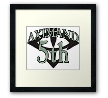 """Little"" Horus Aximand - Sport Jersey Style Framed Print"
