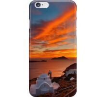 One more sunset in Milos iPhone Case/Skin