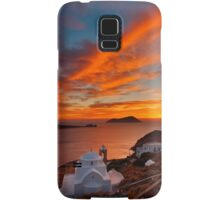 One more sunset in Milos Samsung Galaxy Case/Skin
