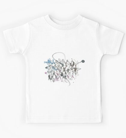 Abstract calligraphy Kids Tee