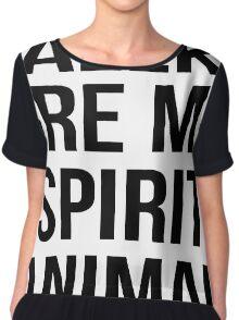 Daleks are my spirit animal Chiffon Top