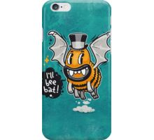 Cartoon Monster I'll Bee Bat iPhone Case/Skin