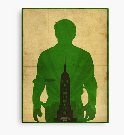 Booker Dewitt cool design Bioshock infinite Canvas Print