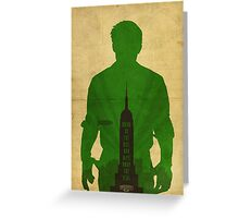 Booker Dewitt cool design Bioshock infinite Greeting Card