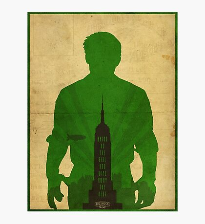 Booker Dewitt cool design Bioshock infinite Photographic Print