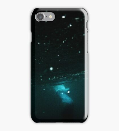 under the waves iPhone Case/Skin