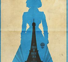 Elizabeth cool design Bioshock infinite by Biocool