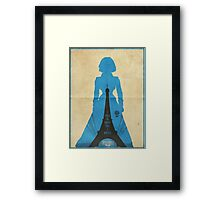 Elizabeth cool design Bioshock infinite Framed Print