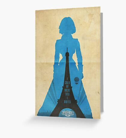 Elizabeth cool design Bioshock infinite Greeting Card