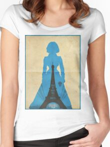 Elizabeth cool design Bioshock infinite Women's Fitted Scoop T-Shirt