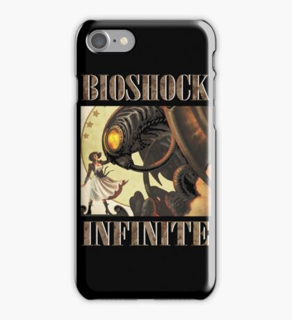 Bioshock infinite cool bird iPhone Case/Skin