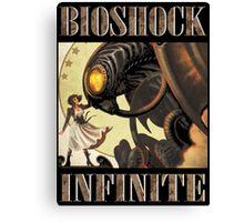 Bioshock infinite cool bird Canvas Print