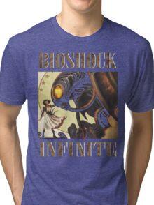 Bioshock infinite cool bird Tri-blend T-Shirt