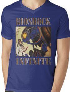 Bioshock infinite cool bird Mens V-Neck T-Shirt