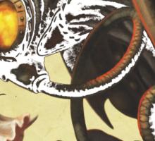 Bioshock infinite cool bird Sticker