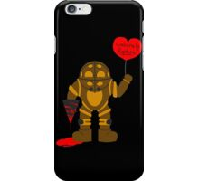 Bigdaddy welcome to rapture Bioshock iPhone Case/Skin