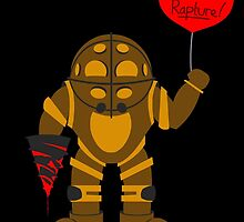 Bigdaddy welcome to rapture Bioshock by Biocool