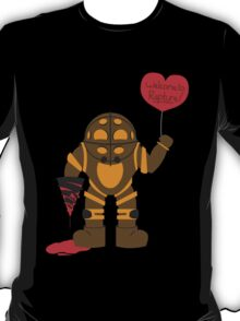 Bigdaddy welcome to rapture Bioshock T-Shirt
