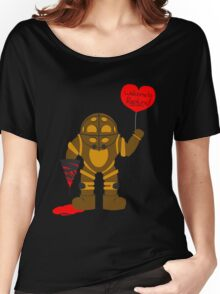 Bigdaddy welcome to rapture Bioshock Women's Relaxed Fit T-Shirt