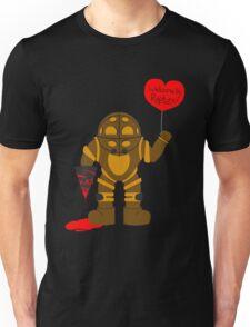 Bigdaddy welcome to rapture Bioshock Unisex T-Shirt