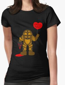 Bigdaddy welcome to rapture Bioshock Womens Fitted T-Shirt