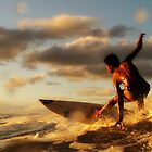 sunset surf by wellman