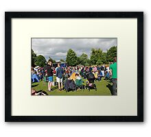 Tentertainment music festival, England Framed Print