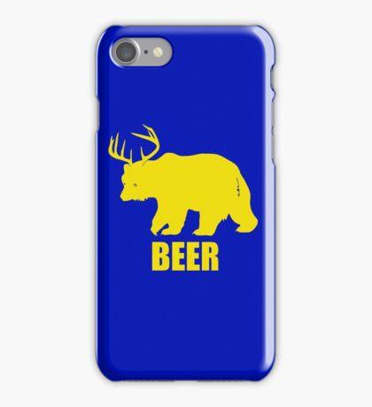 Beer Deer Bear iPhone Case/Skin