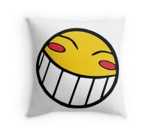 Cowboy Bebop Radical Ed Smiley Face Throw Pillow
