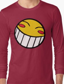 Cowboy Bebop Radical Ed Smiley Face Long Sleeve T-Shirt